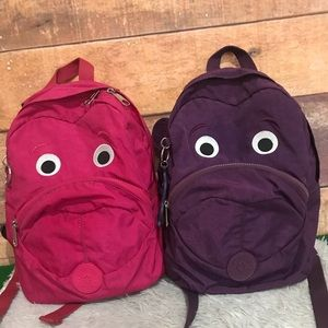 "Bundle Kipling  14"" tall Backpack"